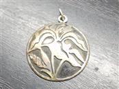 Silver Flower Pendant 925 Silver 3.9g